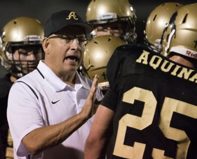 Aquinas vs. Norfolk Catholic, Class C-1 playoffs, 10/28