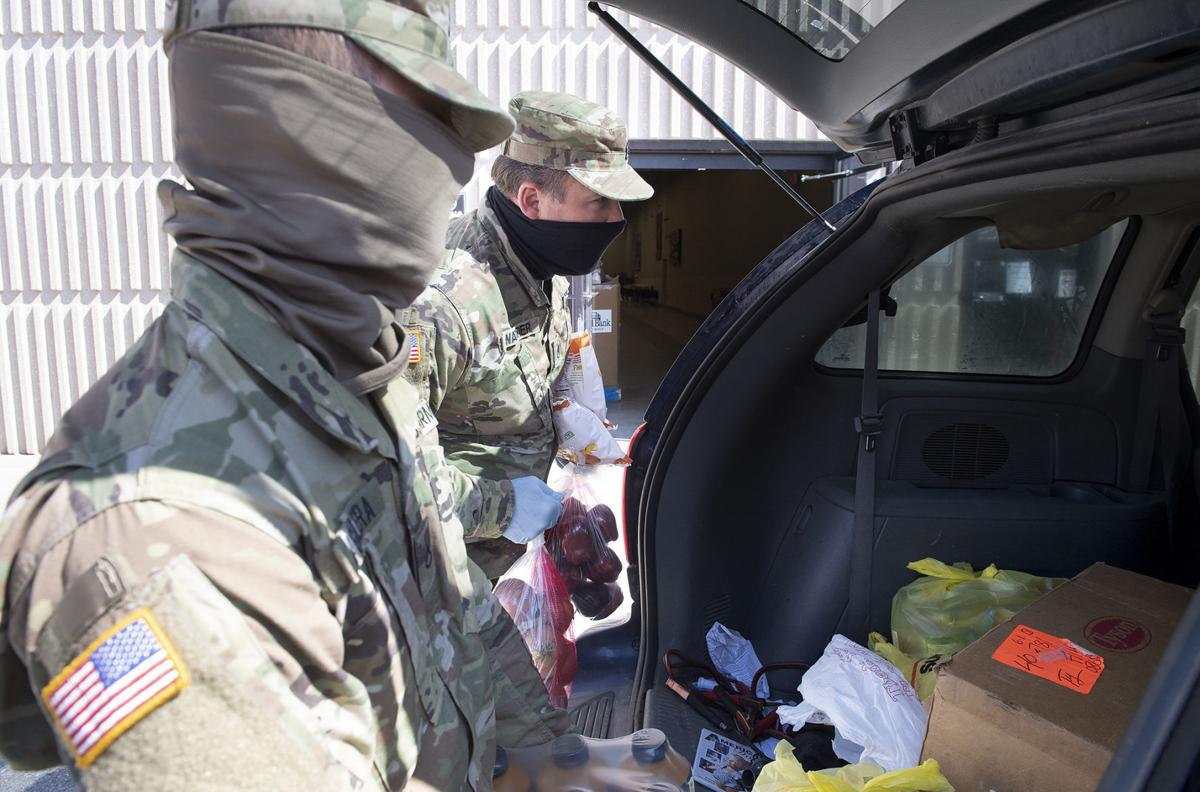 Center for People In Need food distribution