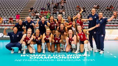 USA volleyball junior national team