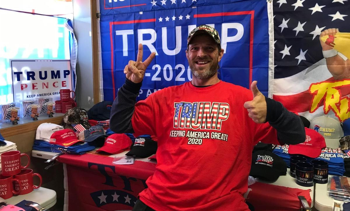 David Searcy at Trump Shop USA