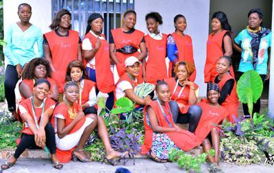 Women at Espoir Education Center in Congo