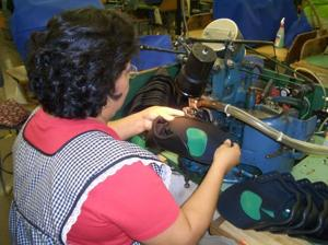 Sewing Shoes Together
