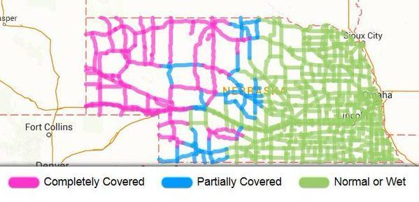 Nebraska Road Conditions Map Top Nebraska Road Conditions Map Pictures   Printable Map   New  Nebraska Road Conditions Map