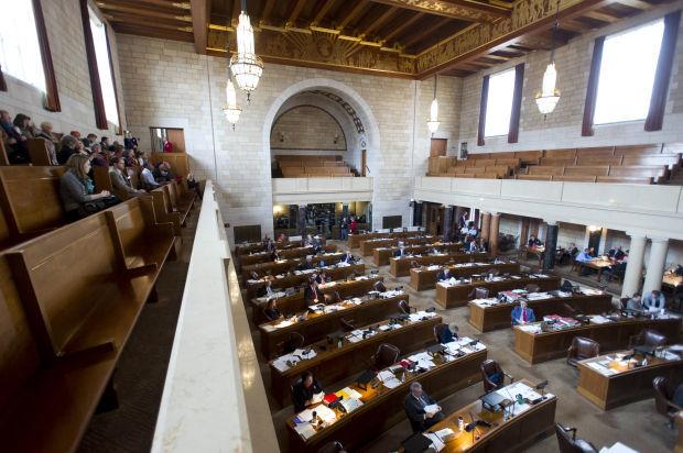 Legislative floor