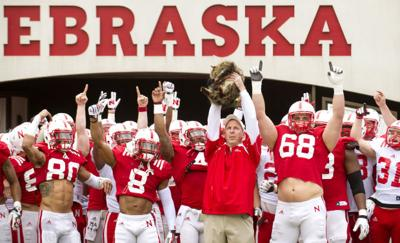 Nebraska's annual Red-White Spring Game, 4.12.14