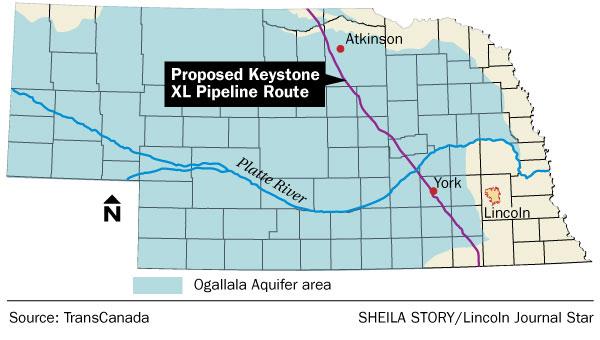 Concerns raised about petroleum pipeline, Ogallala Aquifer ...