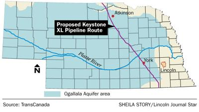 Concerns raised about petroleum pipeline, Ogallala Aquifer ... on immigration route map, keystone project, iraq route map, alaskan pipeline route map, wales route map, keystone south dakota map, canada route map, china route map, israel route map, trade route map, enbridge oil spill map, oil pipeline map, magellan pipeline system map, northern pass route map, keystone xl, bakken pipeline route map, europe route map, keystone pipline, chicago route map, denver route map,