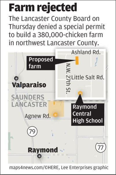 Chicken farm northwest Lancaster County