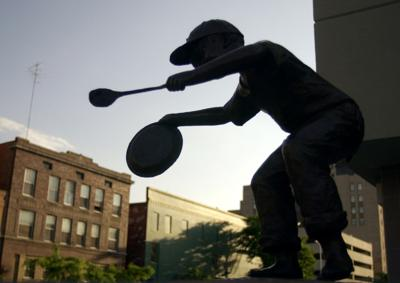 Sculpture of child