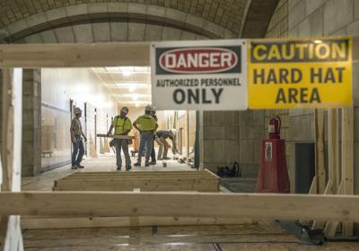 Capitol construction