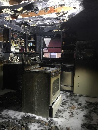 House fire Monday