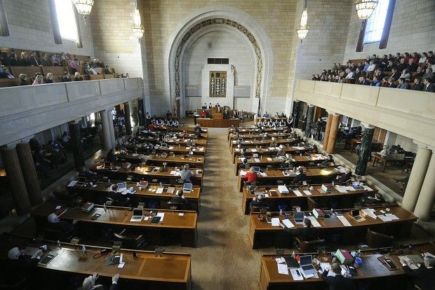 Legislature inside Capitol