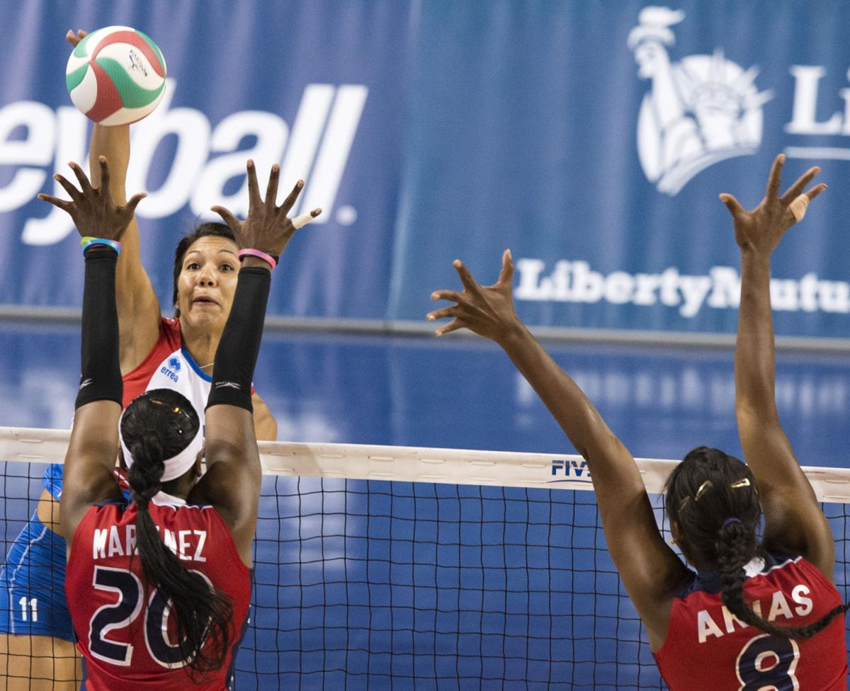 Photos: Dominican Republic vs  Puerto Rico, NORCECA