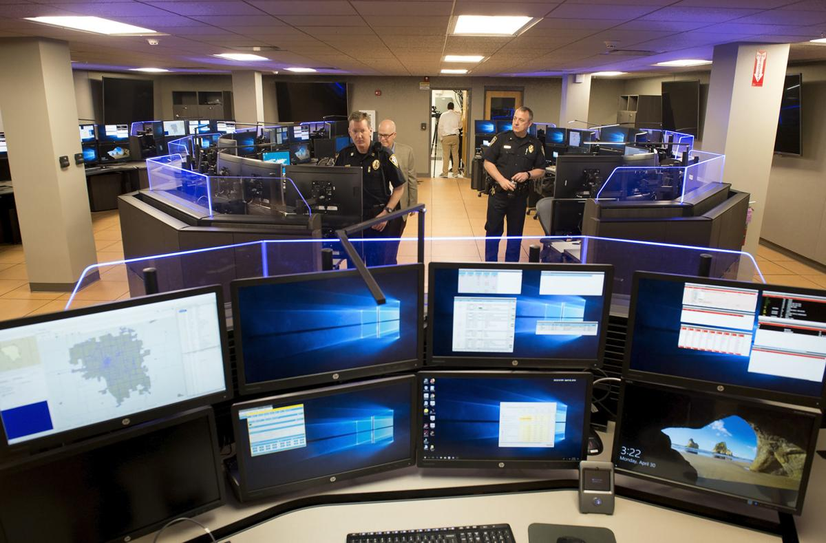 911 communications center