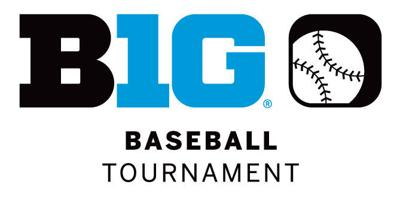 Big Ten baseball tournament logo