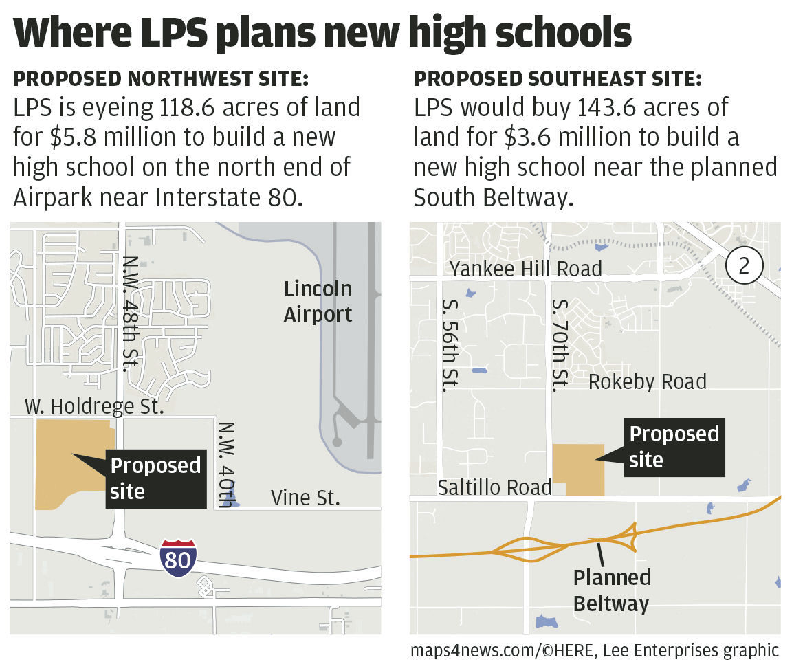 Where LPS plans new high schools