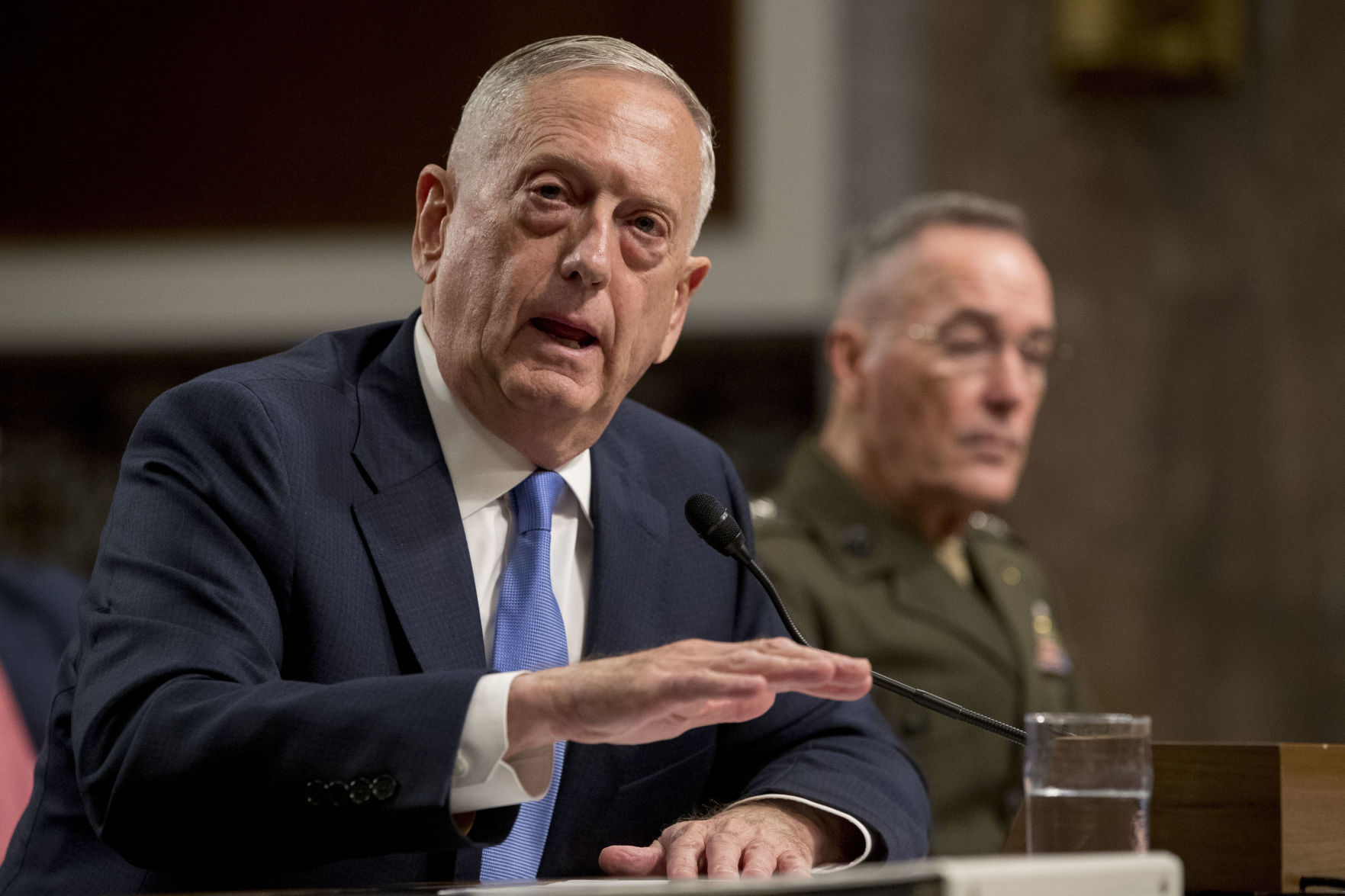 Senators Grill Mattis And Dunford On Afghan War Strategy