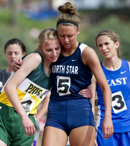 State Girls Track Pius X Girls Finish Strong In 1 600
