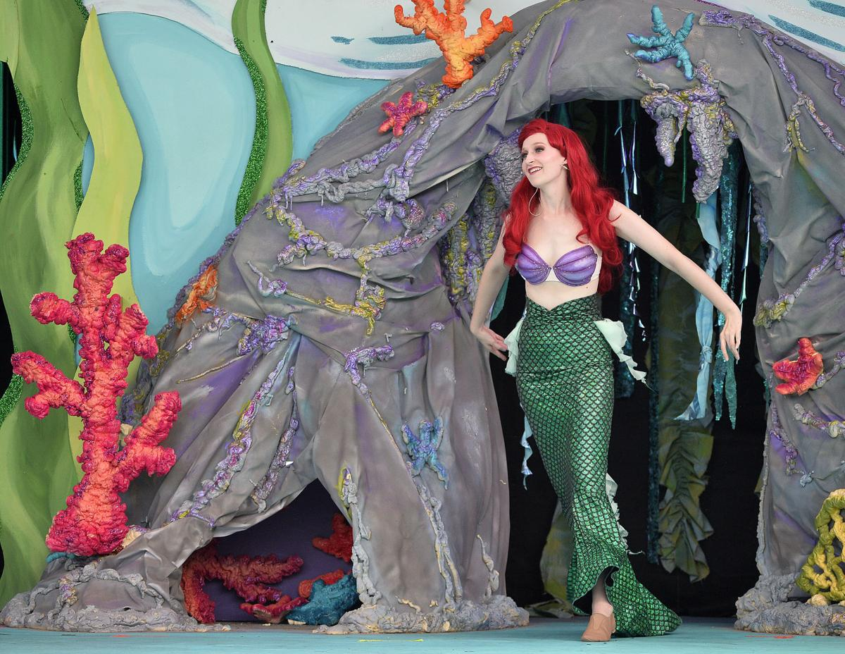 little mermaid musical review