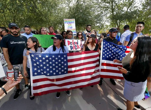 Young immigrants vow to fight Trump's halt of program