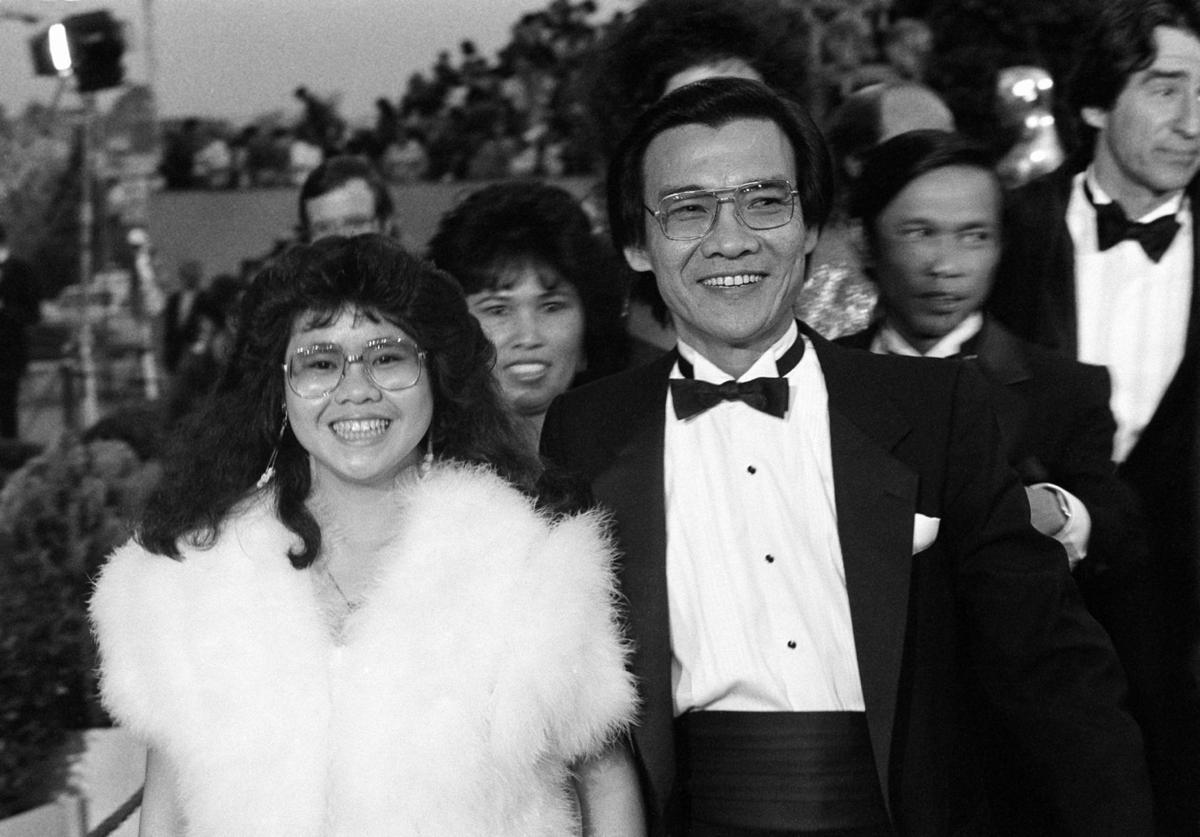 Haing S. Ngor red carpet 1985