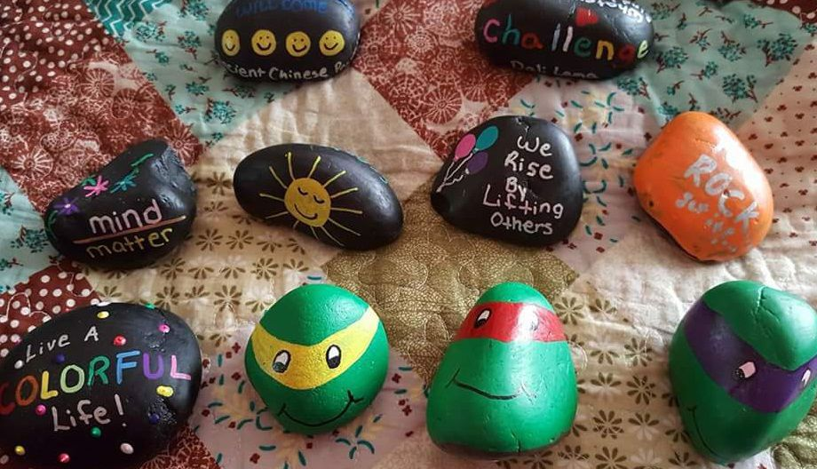 hiding painted rocks is a trend and nebraska park officials don t