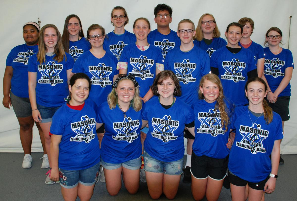 Local musicians in Masonic All-Star Band