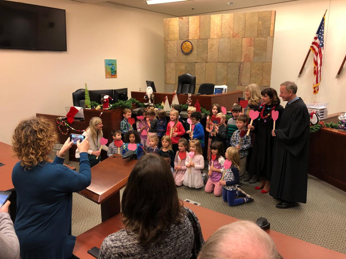 Kindergarten adoption ceremony