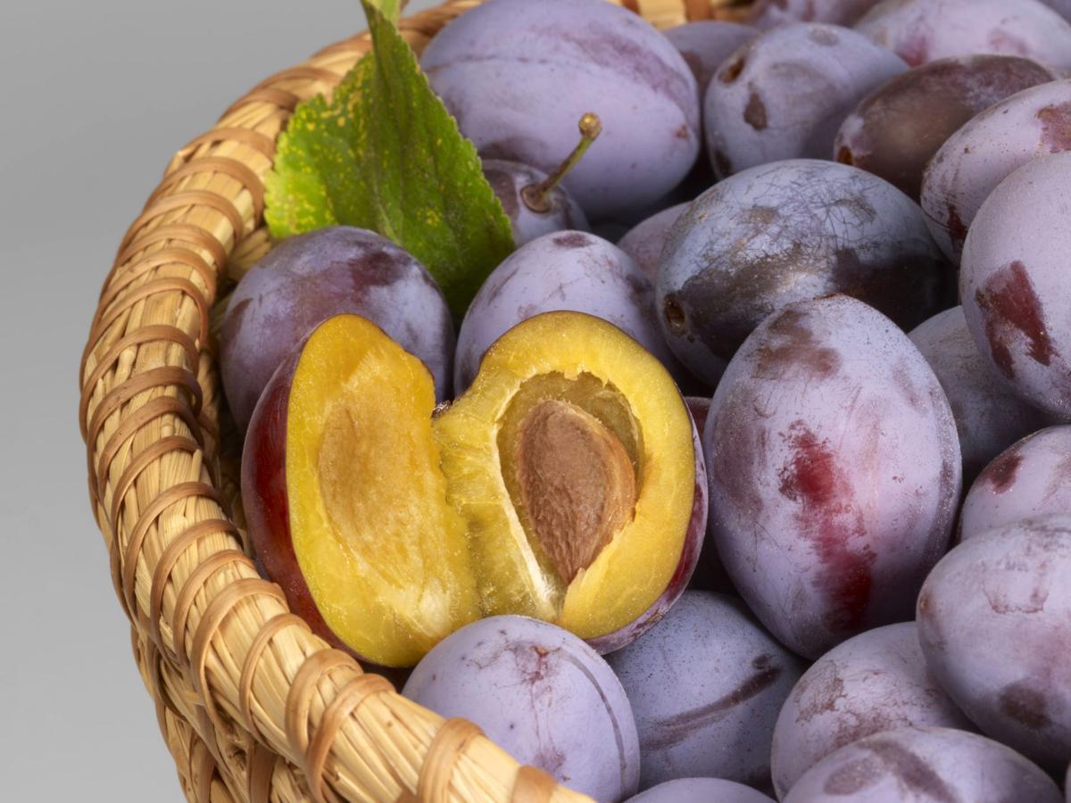 Purple prunes