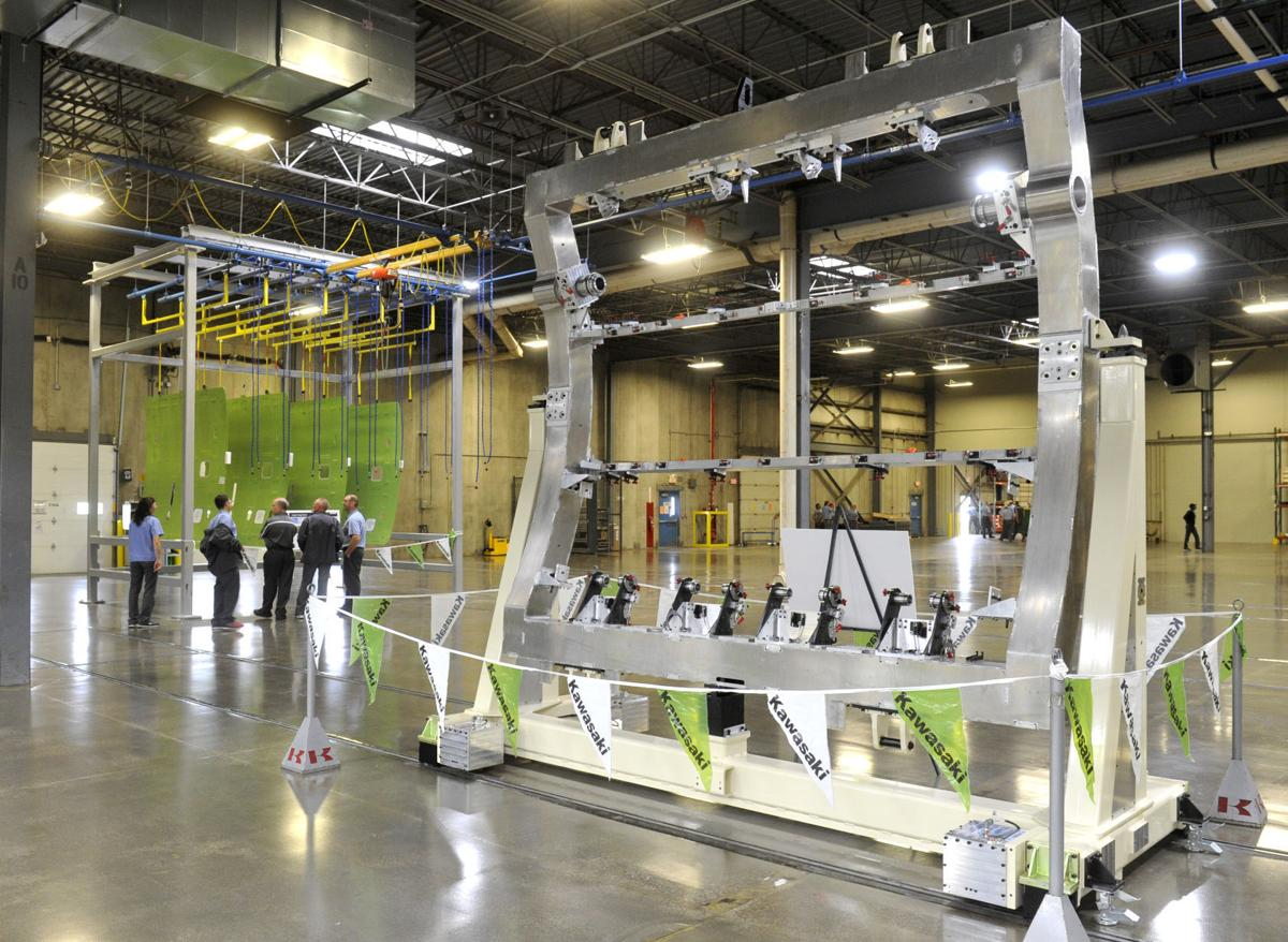 kawasaki unveils new aerospace division in lincoln local business news. Black Bedroom Furniture Sets. Home Design Ideas