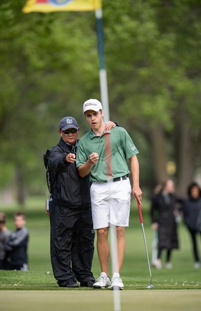 Class A boys state golf, 5.22