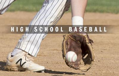 High school baseball logo 2014