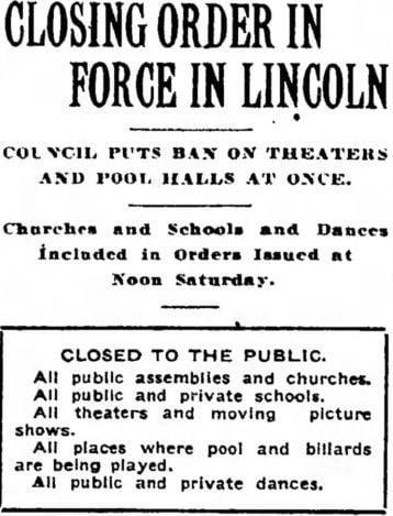 Nebraska State Journal, Oct. 12, 1918
