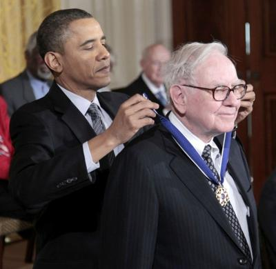 Barack Obama, Warren Buffett