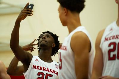 NU men's basketball media day, 9/19