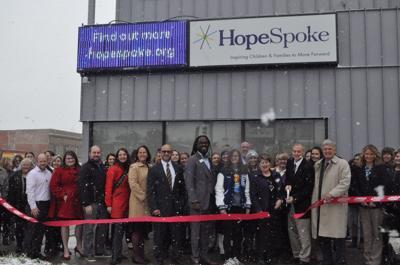 HopeSpoke ribbon cutting