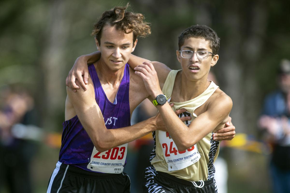 District cross country, 10.14