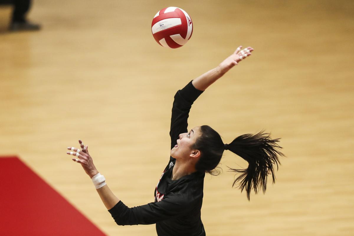 Nebraska-Indiana volleyball Jan. 23