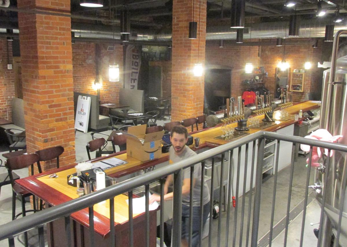 Boiler Brewing taproom