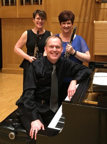 Amicitia Duo (Diane Barger, Mark Clinton, Guest Artist Denise Gainey) Performance