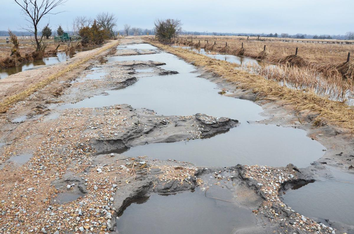 Colfax County road