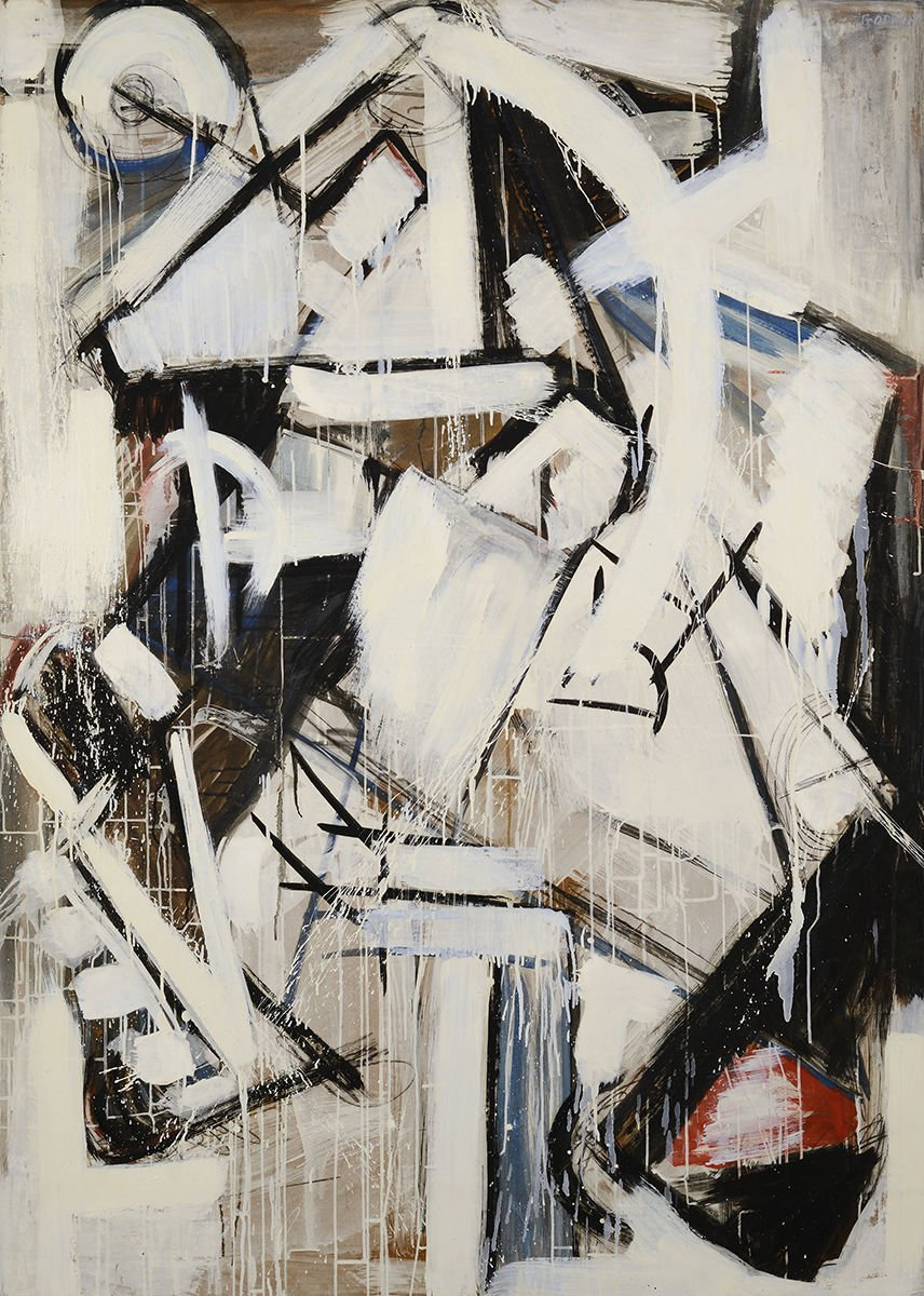 sheldon shows its abstract expressionism in now s the time   male study 1954 by judith godwin is a new sheldon museum of art acquisition that is featured in now s the time sheldon s fall abstract expressionism