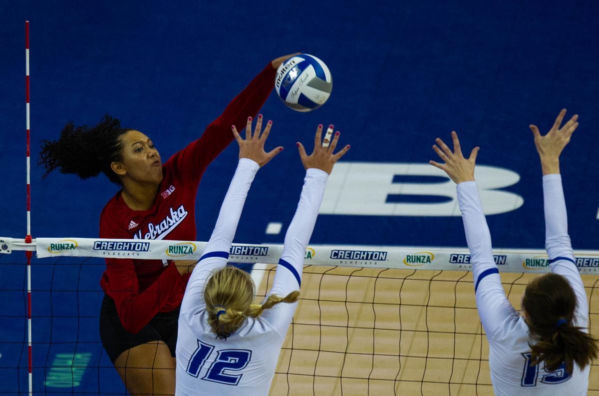 NU Volleyball vs. Creighton, 9/6/18