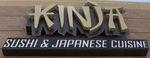 Kinja outdoor sign