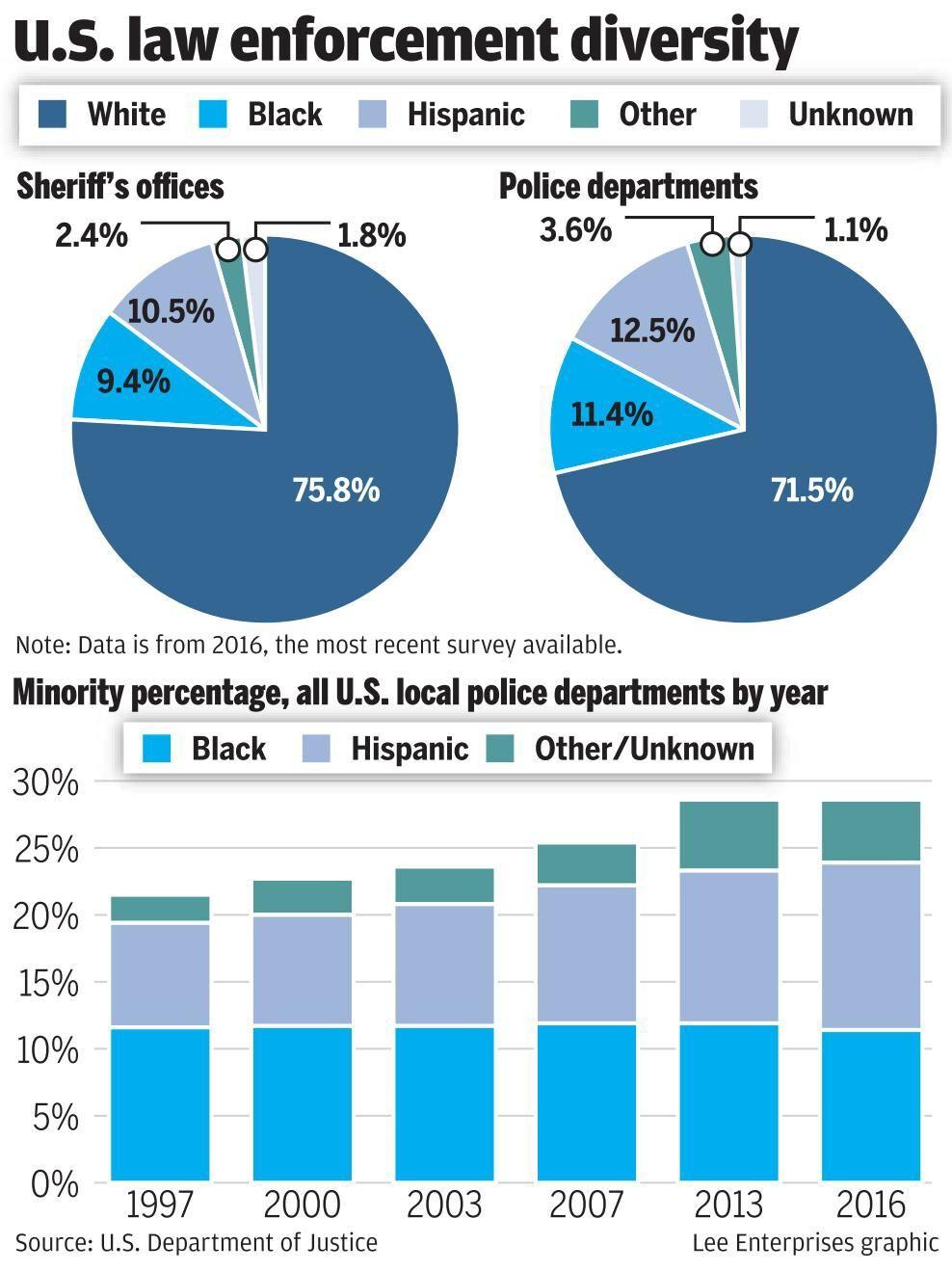 Diversity in law enforcement