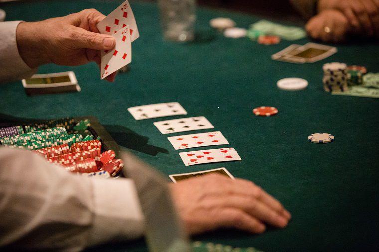 Guests enjoy casino gaming