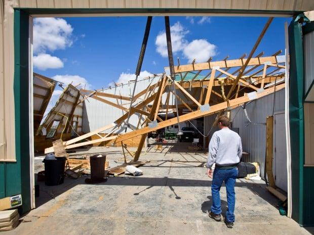 Nebraska City Damage 4.16.12