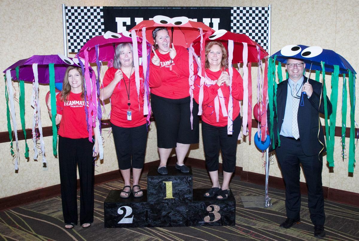 TeamMates jellyfish dress-up contest winners