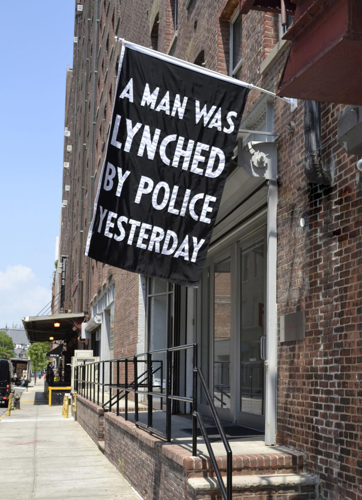 A Man Was Lynched By Police Yesterday
