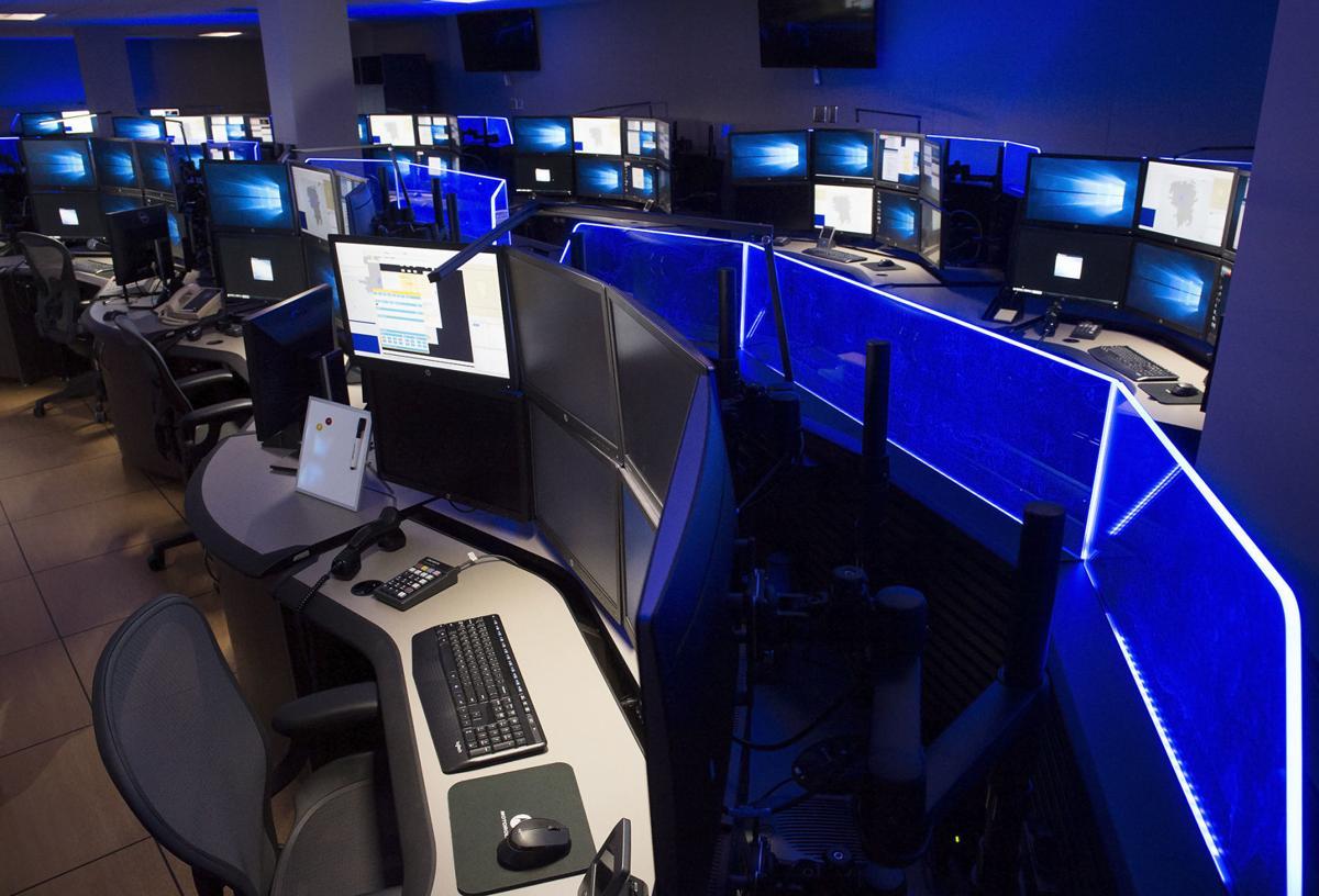 911 communications center